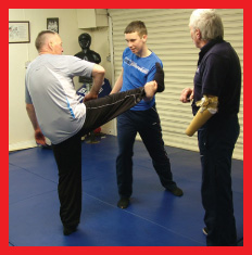 Self Defence Lad and Dad